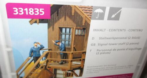 Pola Spur G /_  Figuren Stellwerkpersonal Bahnpersonal /_ 331835