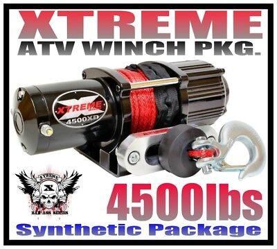 4500LB XTREME UTV WINCH 2014-19 HONDA PIONEER 700 /& 700-4 4500 LB RT