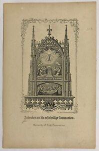 Santo-Comunion-Sakrament-Cuadro-Santos-Amria-Imagen-Milagrosa-B-7601