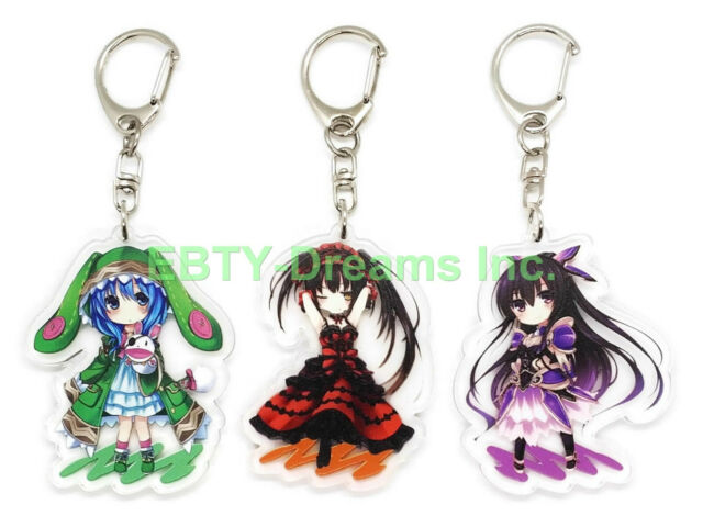 Cute Anime Girls Date A Live Yoshino Cute Rabbit Hair Clip Hairpin Cosplay Props