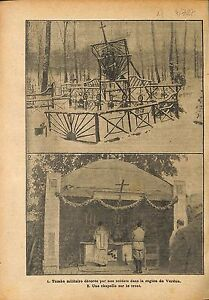 Tombe-Poilus-Bataille-de-Verdun-Chapelle-Messe-Aumonier-WWI-1917-ILLUSTRATION