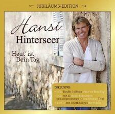 HANSI HINTERSEER - HEUT' IST DEIN TAG-JUBILÄUMS-EDITION 2 CD + DVD NEU