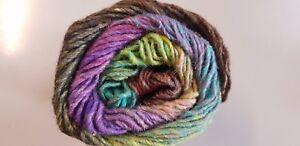 Noro-Silk-Garden-454-Ventura-Purple-Brown-Green-amp-Aqua-Mix-50g