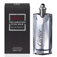 Declaration Dun Soir For Men Edt Spray 3.3 Oz Bottle In Box
