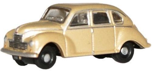 Oxford NJJ002 Jowett Javelin Golden Sand 'n' Spur 1/148 Maßstab Neu Im Kasten Autos