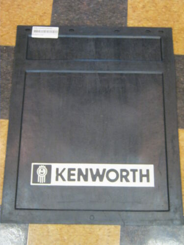 """BUY AS MANY AS YOU NEED BLACK RUBBER KENWORTH LOGO MUDFLAP 24/"""" x 30/"""""""