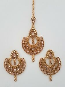 Indian Jewellery Traditional Vintage Maang Tikka Headpiece Head
