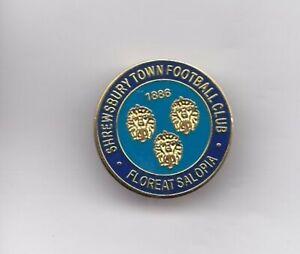 Shrewsbury Town  - lapel badge brooch fitting