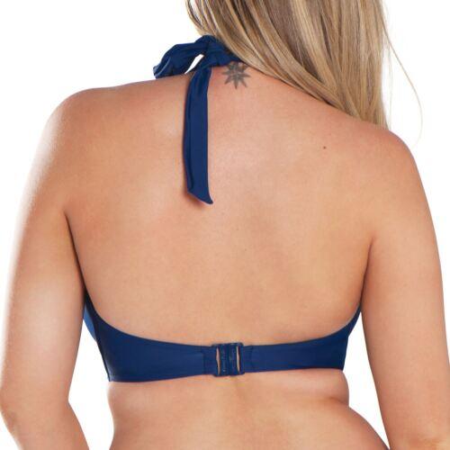 Curvy Kate Swimwear Jetty Halterneck Bikini Top CS3521 Navy