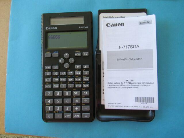 Canon F-717SGA Scientific Calculator