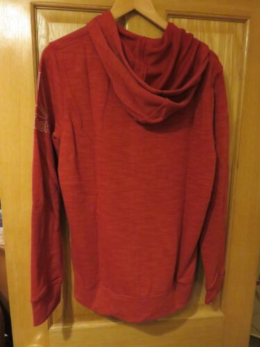 NEW with Tags REEBOK Zipped Hoodie EL MARBLE GROUP FZ Size XL Red