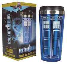 Doctor Who Tardis 16 oz. Mug Stainless Steel Vacuum Water Bottle Travel Mug Blue