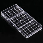 New 3D Fashion Chocolate Bar Mold Polycarbonate Candy Tray Hard PC DIY Mould