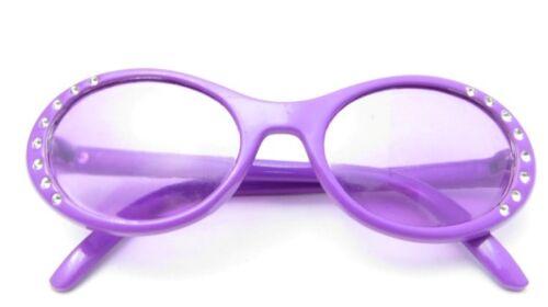 "Doll Clothes 18/"" Sunglasses Lavender Rhinestone Fits American Girl 18 Inch Dolls"