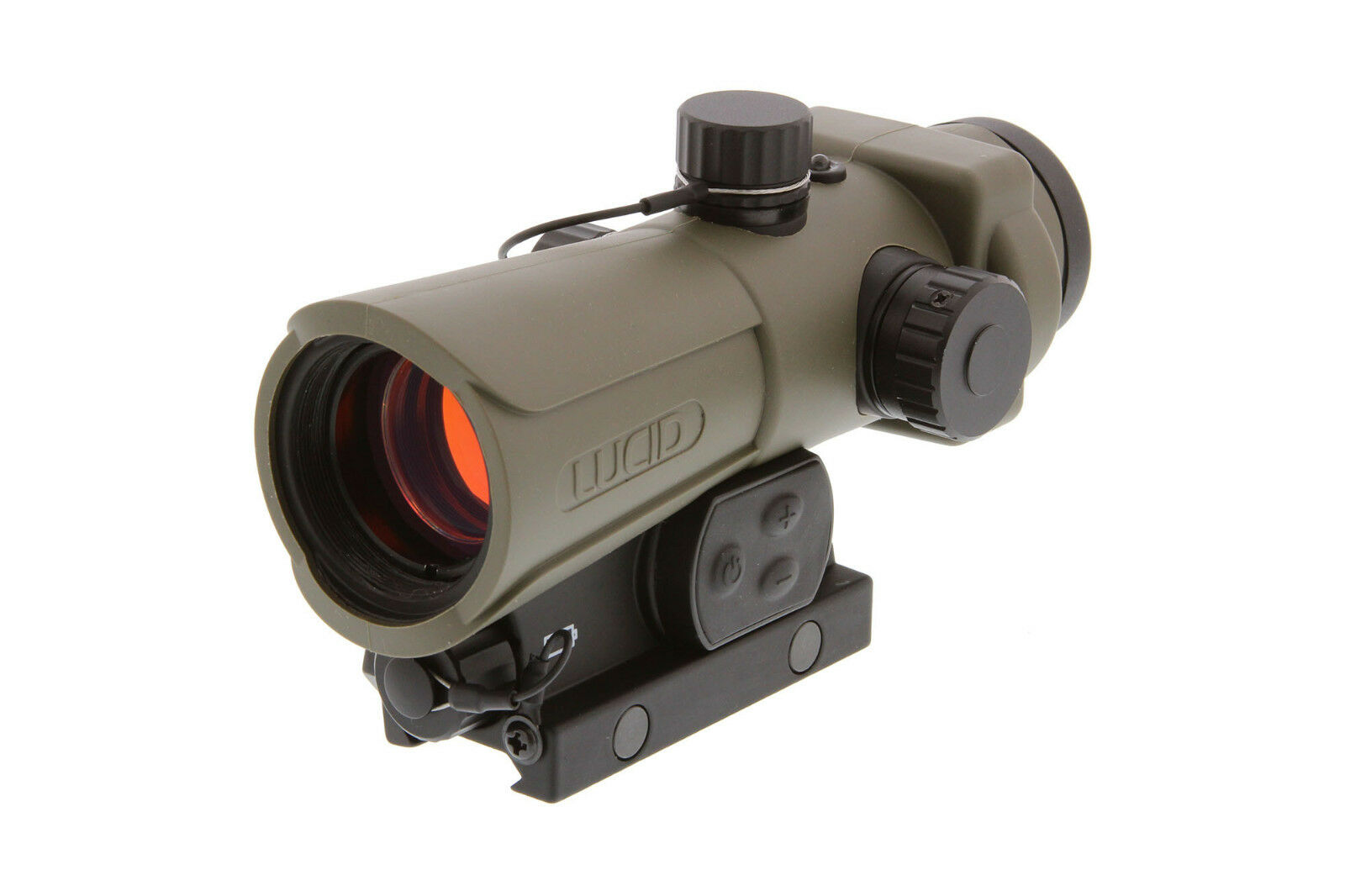 Lucid HD7 Full-Size Red Dot Sight (Gen III) with User Select Reticle - Tan