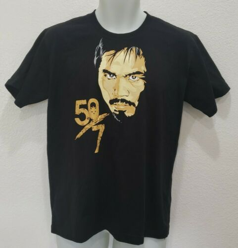 "Manny Pacquiao ""50/7"" Philippines Boxing Club Blac"