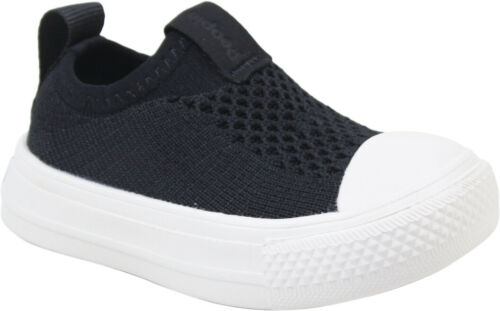 Details about  /People Footwear Toddler Boys Phillips Knit Sneakers Really Black// Picket White 1