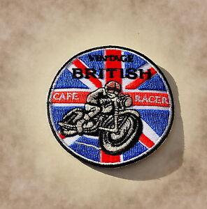 """Contemplatif Patch, écusson, Badge, Cafe Racer, Angleterre, Bsa, Norton, Triumph, Vintage-,badge,cafe Racer,england,bsa,norton,triumph,vintage"""" afficher Le Titre D'origine"""
