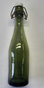 Bierflasche J. Schlesinger Bergen bei Celle 0,25 Liter grün