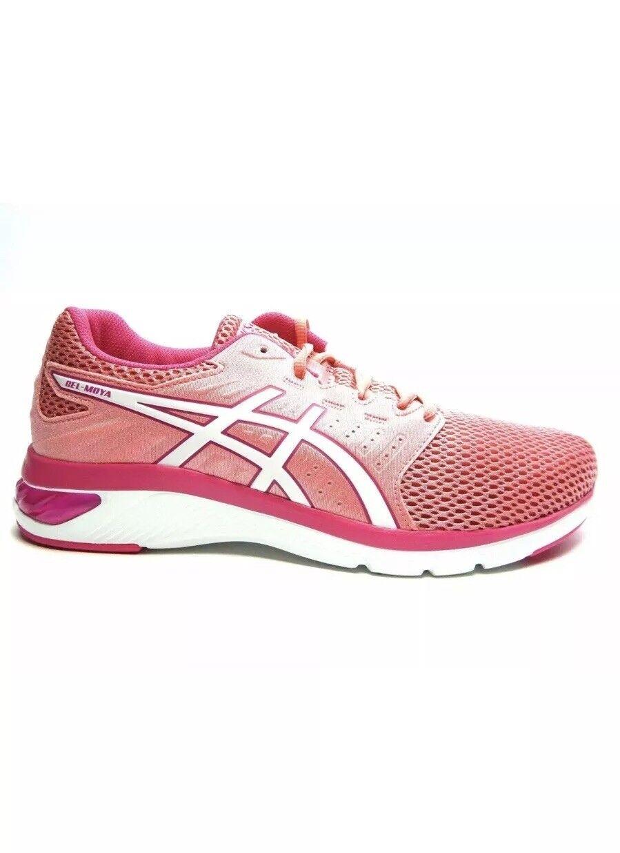 Asics de mujer Gel-Moya Running zapatos zapatos zapatos Melocotón Pétalo blancoo Talla 9.5 Nuevo en Caja-Envío Gratis  Nuevos productos de artículos novedosos.