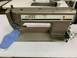 INDUSTRIAL SINGER 591 MANUAL THREAD CUTTER SEWING MACHINE.JAPANESE MADE
