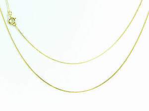 9ct-Yellow-Gold-SOLID-fine-Diamond-Cut-Curb-chain-16-18-20-inch-free-box