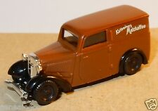 MICRO BREKINA HO 1/87 DKW F7 MARRON CAFE KATHREINERS MALZKAFFEE no box