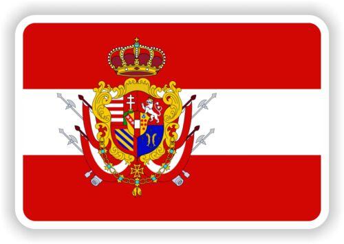 Grand Herzogtum Toskana Flagge Aufkleber für Lkw Buch Laptop Helm Skateboard Kfz