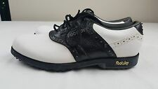 ⛳⛳FootJoy GreenJoys Men's Black and White Golf Shoes  #45492  Sz 8M MSRP $145 ⛳⛳
