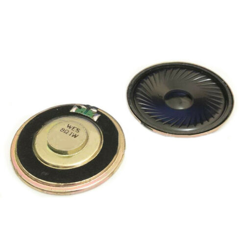 Diameter 23mm 8 Ohm 1W Iron Shell Magnetic Round Small Horn High Power Speaker