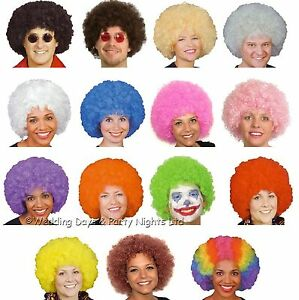 Curly-Afro-Wig-60s-70s-80s-Disco-Clown-Mens-Ladies-Fancy-Dress-Costume-Accessory