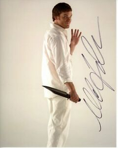MICHAEL-C-HALL-signed-autographed-DEXTER-photo