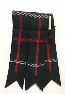Bien Homme Kilt Flashes Chaussettes Tartan Mackenzie / Pour De / Accesoire / Lustre Brillant