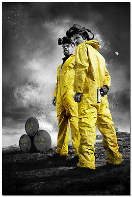 Breaking Bad TV Series Art Wall Silk Poster 24x36 inches Room Decor 002