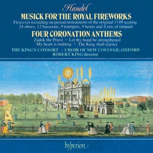 1 of 1 - Handel: Coronation Anthems/Fireworks Musick -  CD M2VG The Cheap Fast Free Post