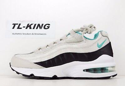 Nike Air Max 95 GS Youth Light Bone Sport Turquoise 905348 012 Msrp $100 KK | eBay