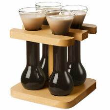 Mini Yards of Ale with Stand | 50ml Shot Glasses styled like a Yard of Ale Glass