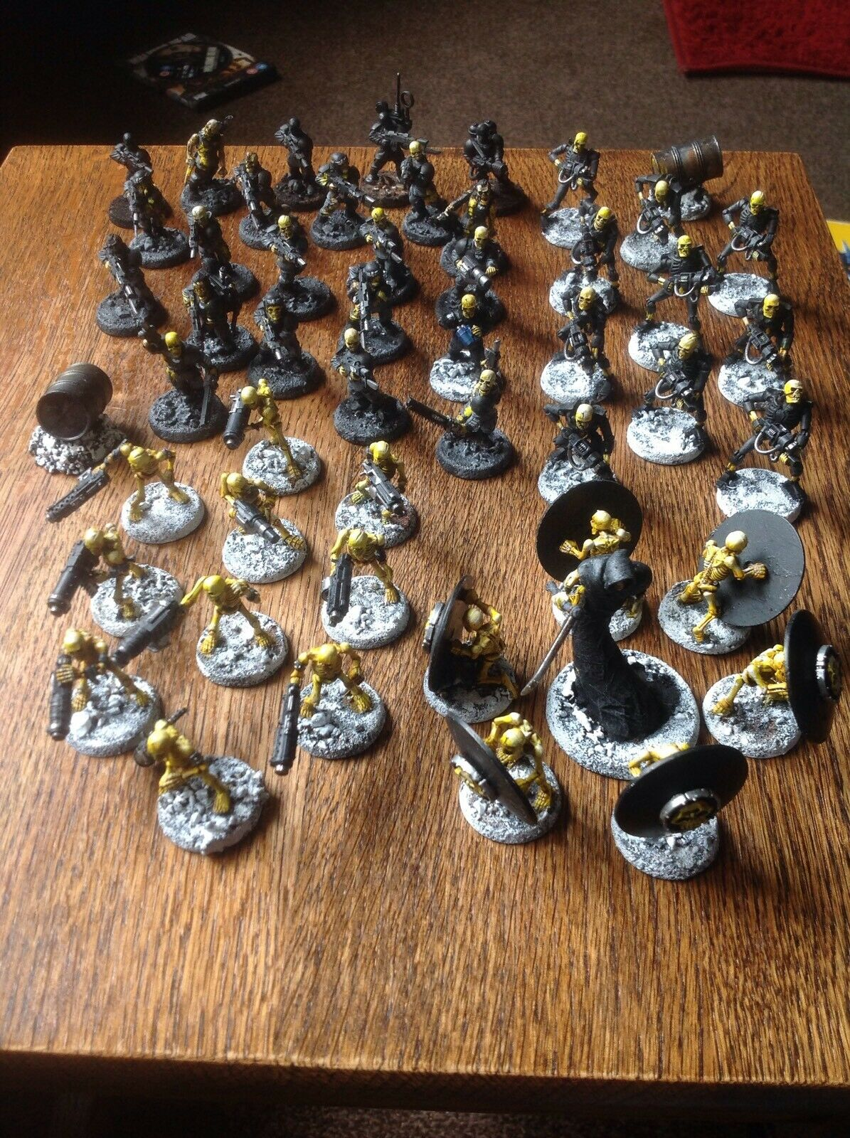 Warhammer 40k Imperial Guard Chaos Plague Zombies Army Skeletons Poxwalkers
