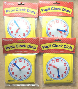 Clock-Dials-4-Sets-of-10-Learning-Resources-LER0112