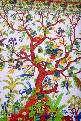 Tree of Life Wall Decor Hippie Tapestries Large Indian Wall Hanging Beach Throw