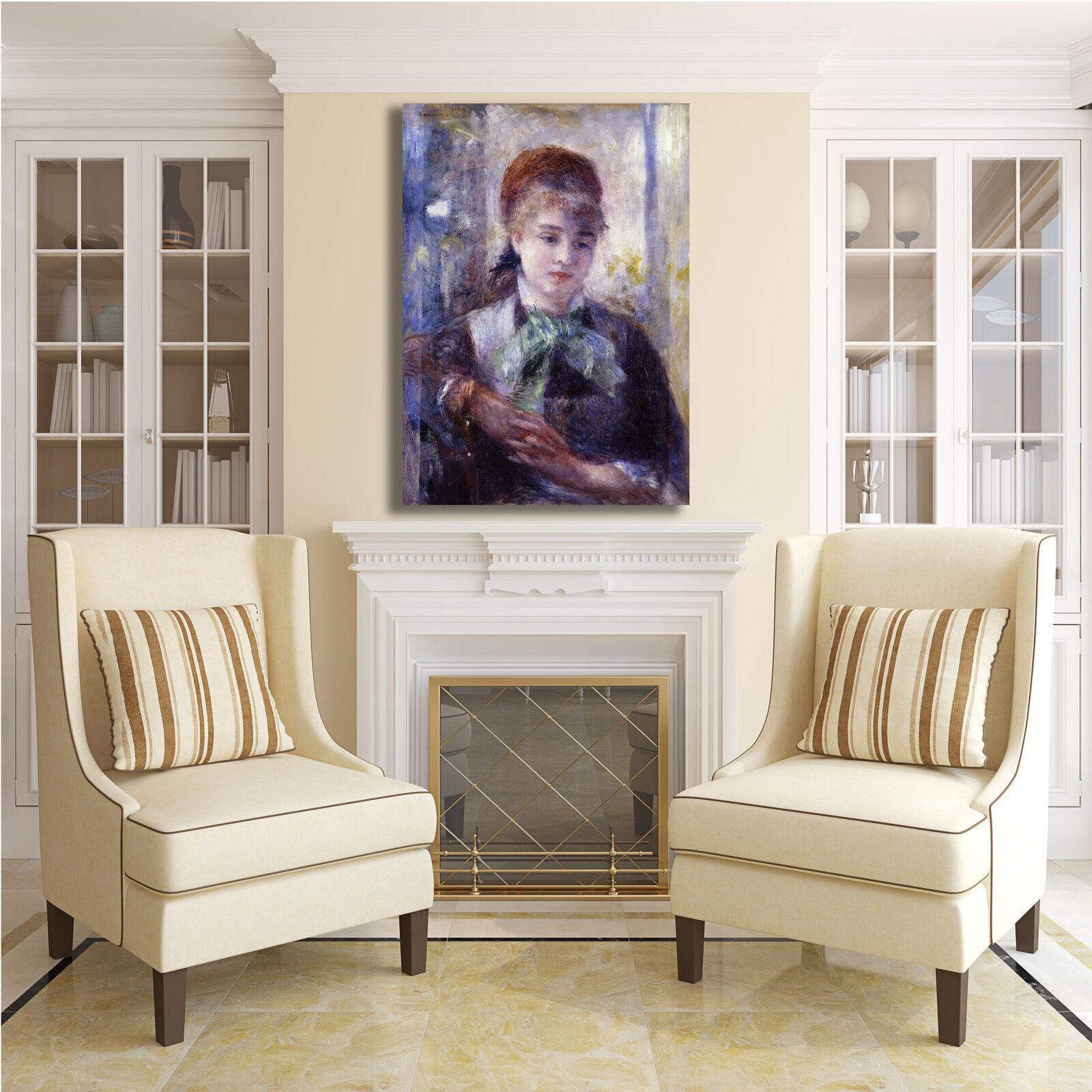 Renoir ritratto Nini Lopez design quadro stampa telaio tela dipinto telaio stampa arRouge o casa 4d9100