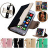 For iPhone 7 & 7 Plus Leather Mirror Wallet Magnetic Flip Card Slot Case Cover