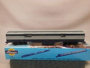 HO-SCALE-ATHEARN-HEAVYWEIGHT-BAGGAGE-BALTIMORE-amp-OHIO