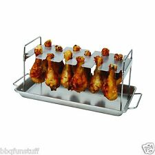 Brinkmann Chicken Leg Roaster Grill Barbecue Smoker New 812-9008-S