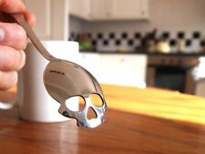 Skull Shaped Sugar Spoon Stainless Steel Serving Spoon By Suck UK Gag Gift