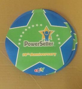 Ebay 10th Anniversary Powerseller Mouse Pad Old Logo New Rare Collectible Ebay