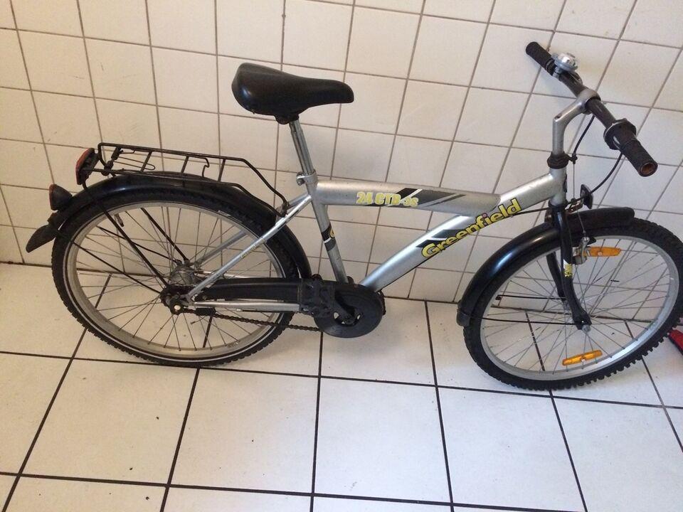 Drengecykel, citybike, Greenfield