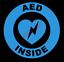 thumbnail 6 - AED Inside Circle Emblem Vinyl Decal Window Sticker Car