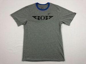 NEW-Nike-Oregon-Ducks-Gray-Dri-Fit-Short-Sleeve-Shirt-Multiple-Sizes