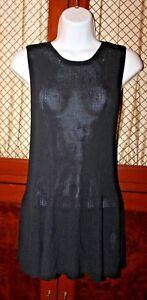 Womens Black Größe The Us Row Small Shirt Knit q1vE58E